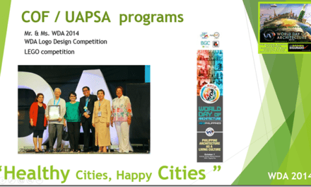 The Biggest UAP Celebration on World Day of Architecture