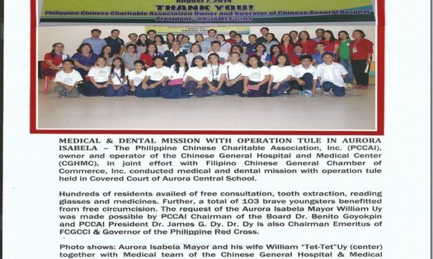 CGHMC, Medical & Dental Mission w/ Operation Tuli in Aurora Isabela