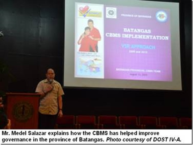 Los Baños barangay leaders learn about information management