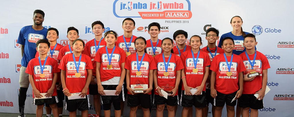 JR. NBA/JR.WNBA PHILIPPINES 2016, TO ENCOURAGE YOUTH BASKETBALL PARTICIPATION