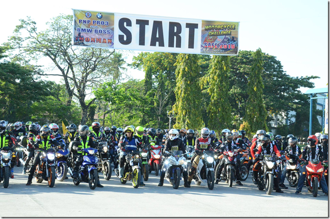 Motorcycle Challenge for Safe 2016
