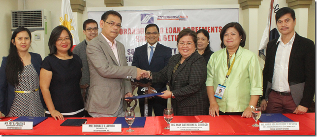 SSS welcomes Enterprise Bank as new partner for housing and business loans