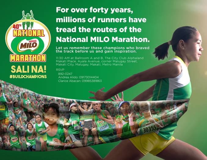 40th National MILO Marathon Aarangkada na!