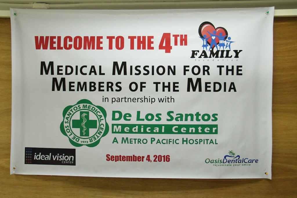 De Los Santos Medical Center 4th Medical Mission for Media