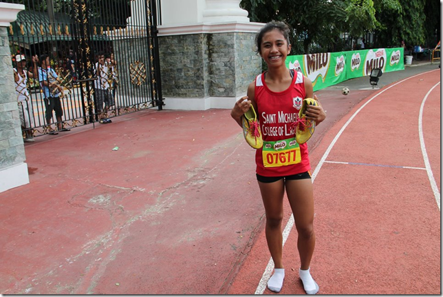 MILO Little Olympic sa Marikina, Raterta wagi sa 800 Meter Run