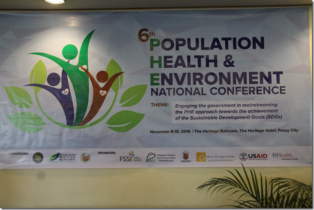 6th National PHE Conference Gears Towards Achievement of Sustainable Development Goals