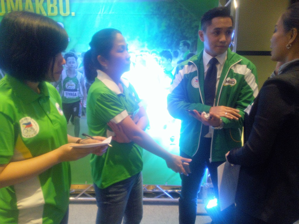 Live Radio Interview of Two MILO Philippines Sports Executives