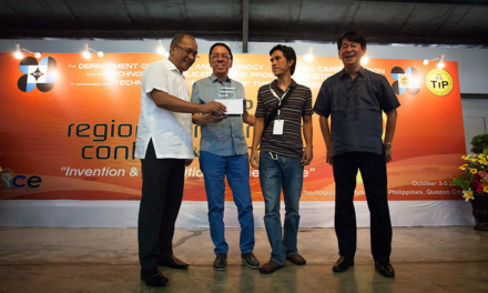 DOST-NCR, RICE 2nd Runner Up Awardee for Creative Research LIKHA (Private)