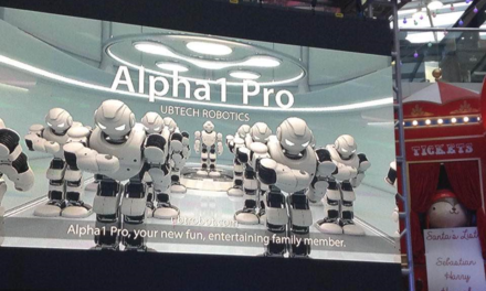 UBTECH Robotics Introduces New Star Wars first Order Stormtrooper Robot, The alpha 1 Pro Humanoid Robot and STEM-Friendly Jimu Robots