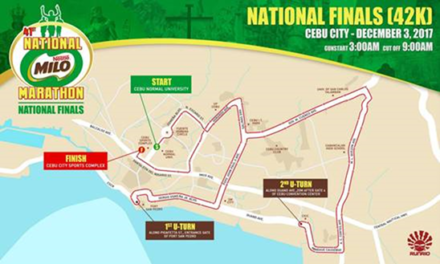 41st National MILO Marathon Finals in Cebu