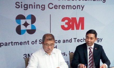MOU Signing Between DOST and 3M Philippines, Inc.