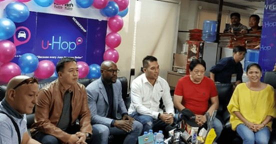 Mayweather launched u-Hop, one of the biggest Transport Network Vehicle Services