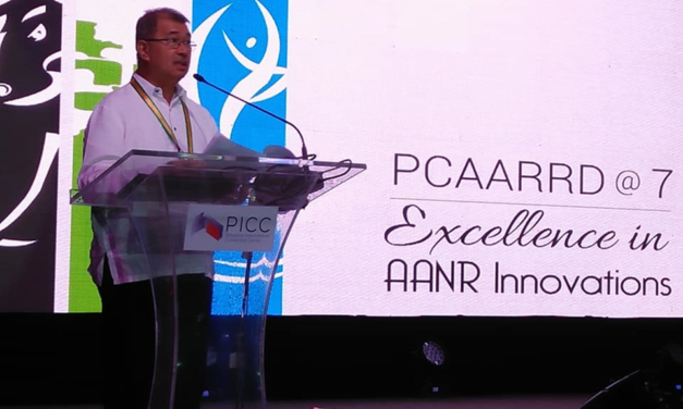 "DOST Secretary Fortunato T. dela Pena Keynote Address during the PCAARRD's 7th Anniversary ""Excellence in Agriculture, Aquatic and Natural Resources Innovation"""