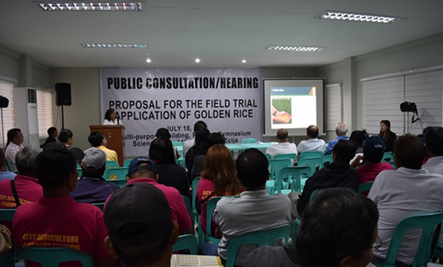 PUBLIC Participates in Golden Rice Consultations