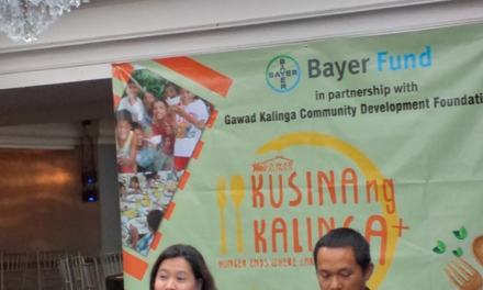 Bayer Fund at Gawad Kalinga magtatayo ng feeding kitchens sa Bulacan at Isabela