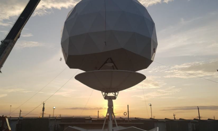 Phl largest tracking antenna for earth observation satellites operates in Davao