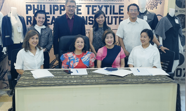 MOA Signing between DOST–PTRI and the 3 Industry Collaborators