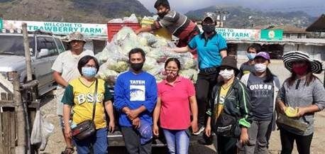 Benguet State University Provides Fresh Fruits and Vegetables for Relief