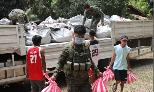 ARMY AND EAGLE CEMENT COLLABORATE IN RELIEF DRIVE