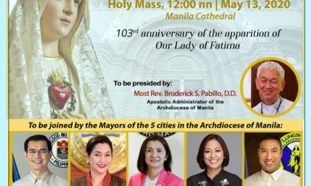 Limang City Mayors, Kabilang sa Selebrasyon ng Pista ng Our Lady of Fatima