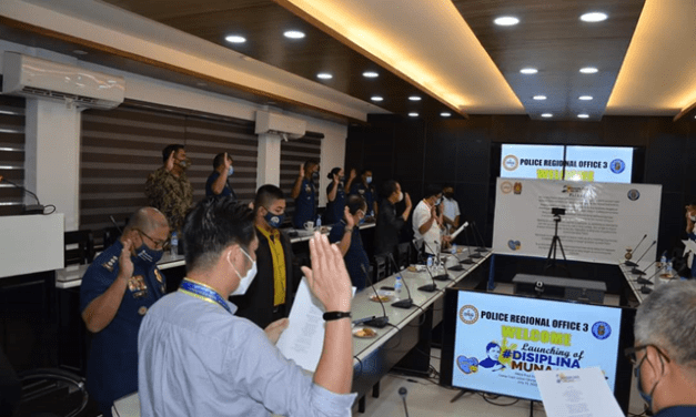 DILG' Disiplina Muna Advocacy Campaign officially launched at PRO3