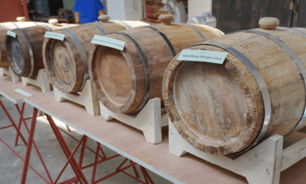 Locally Made Fruit Wine Barrels now available as Cheaper Substitute