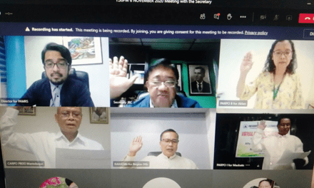 Virtual Oath-taking with Brother John