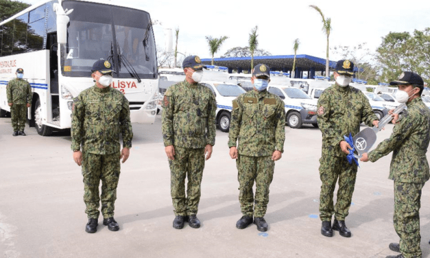 36 Brand-new Toyota Hi-Lux and 1 Bus for turnover for Provincial Police