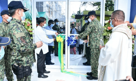 ANAO POLICE HAS NEW HOME