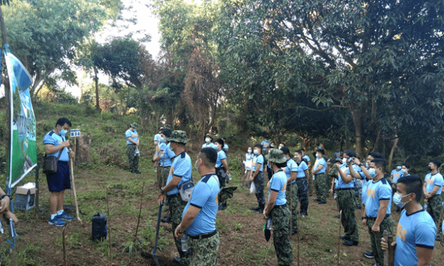 PNP-PRO3 CONTINUES GREENING PROGRAM PLANTS 500 TREES