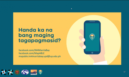 'Magmasid gamit ang MASDAN', DOST-funded, UP-developed mobile app to help in environment protection