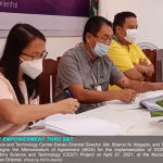 DOST XI inks MoA with LGU Tarragona to empower the community in disaster risk reduction and climate change adaptation