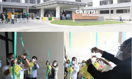 DOH-CALABARZON AND CABUYAO CITY GOVERNMENT LEADS THE INAUGURATION OF CABUYAO CITY HOSPITAL