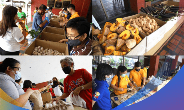 DepEd conducts Bayanihan Community Pantry for employees