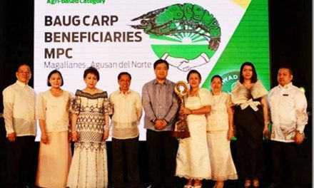 Agusan Norte farmers' Cooperative and Farmer-Beneficiary cited in Land Bank's Gawad Pitak 2014