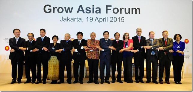 DA partners with WEF's Grow Asia for wider support for PH agribusiness