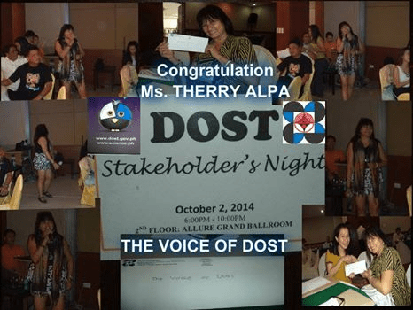 DOST, Stakeholder's Night