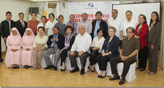 Seven charities receive donations from SSS officials, employees