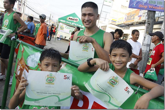 New breed of elite runners stamp authority in 39th National MILO Marathon Naga race