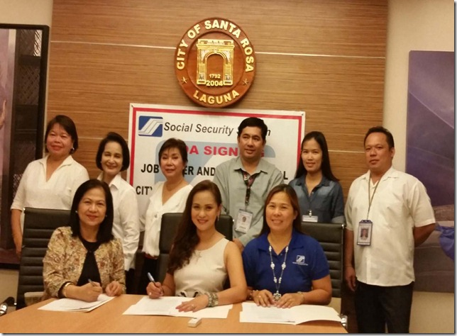 SSS covers Job order, contractual workers of LGU-Sta. Rosa