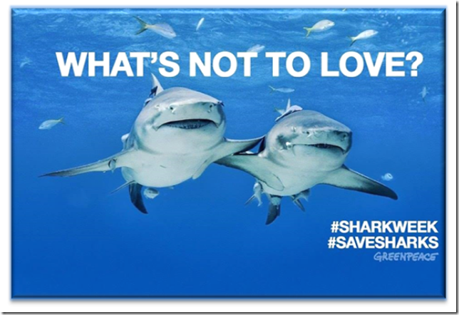Celebrate Shark Week with Greenpeace!